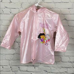 Dora the Exploradora Pink Rain Coat